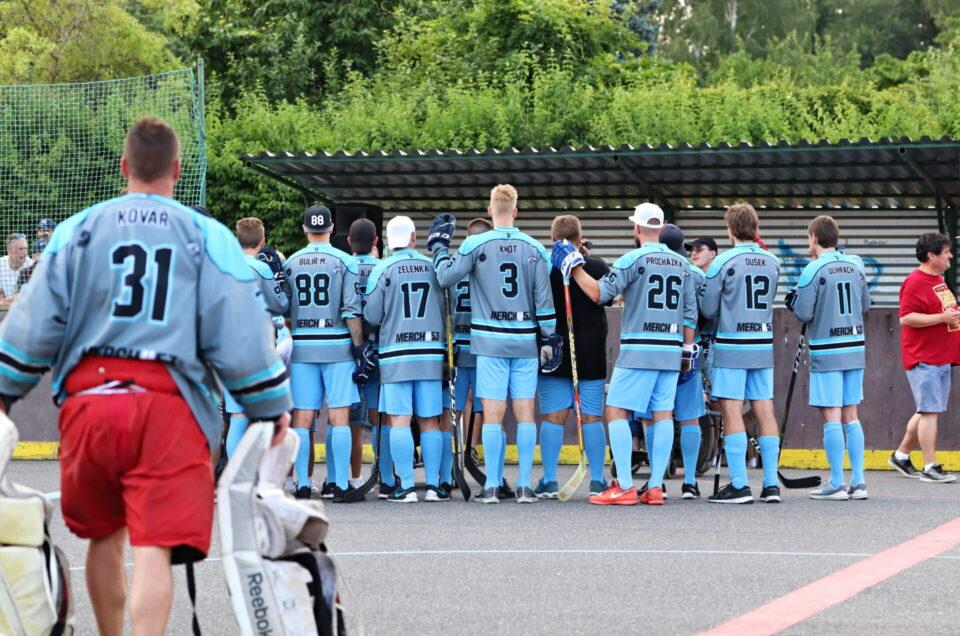 Hokejbal – All stars team – Bulda team